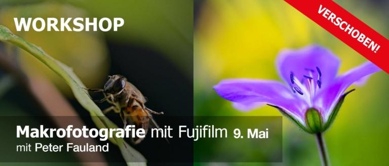 Makrofotografie mit Fujifilm verchoben!