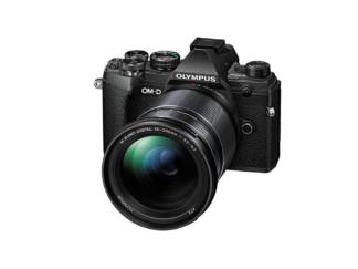 Olympus OM-D E-M5 Mark III + 3,5-6,3/12-200mm schwarz