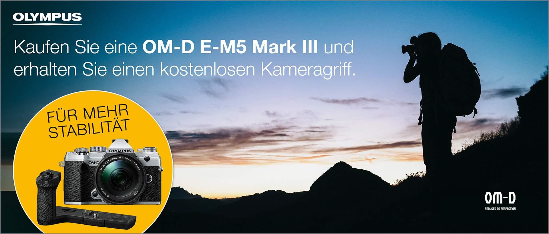 OLYMPUS OM-D E-M5 Mark III Aktion