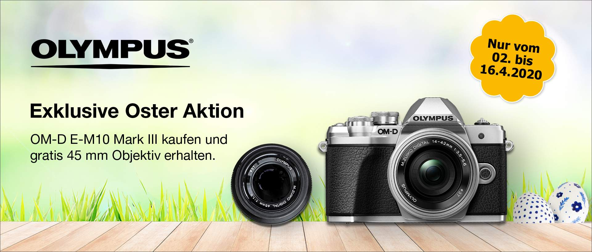 Olympus Oster Aktion