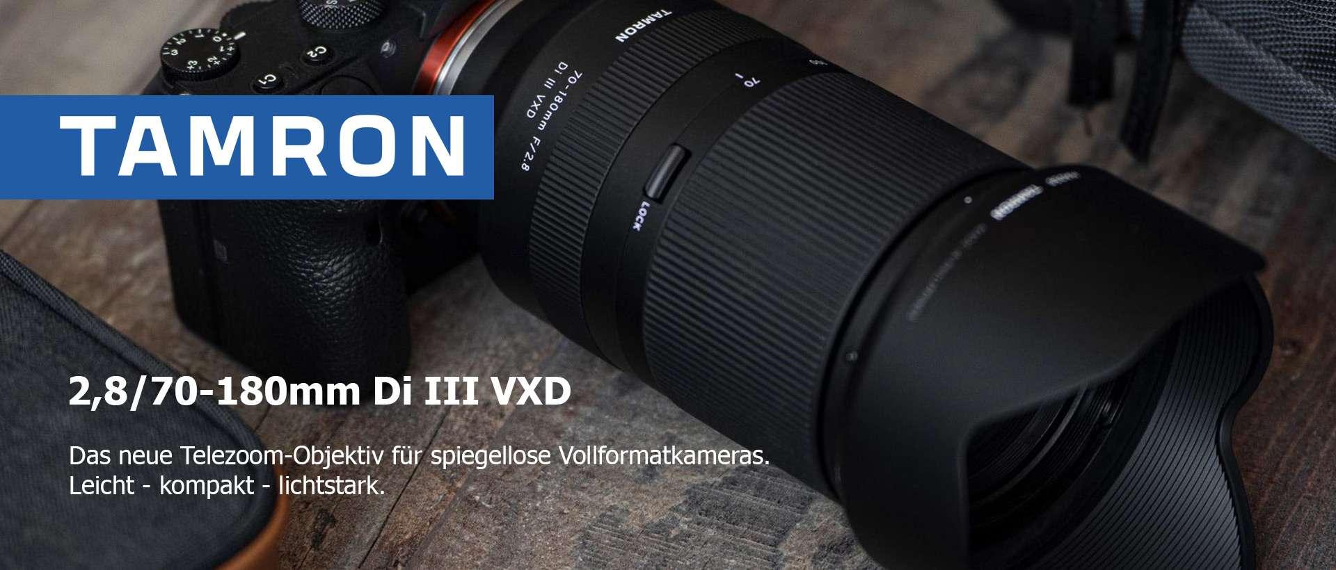 Tamron 2,8/70-180mm Di III VXD