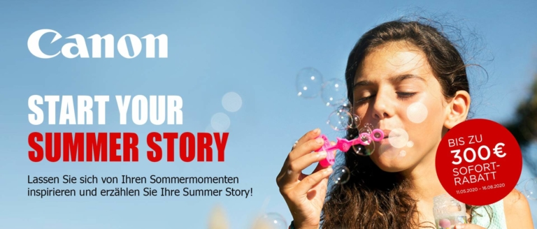 Canon Start Your Summer Story