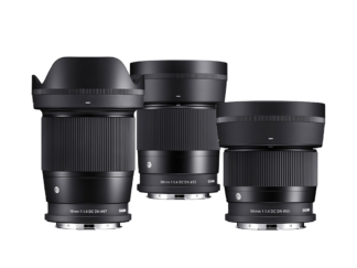SIGMA 16mm + 30mm + 56mm F1,4 DC DN | Contemporary – L-Mount