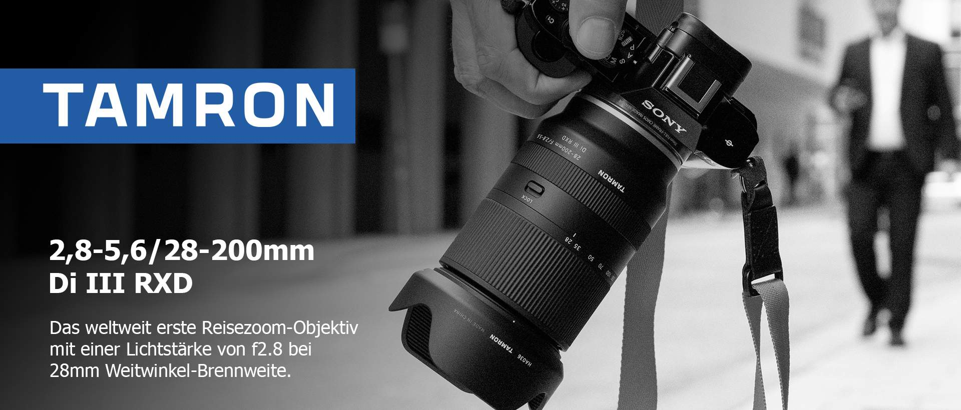 Tamron 2,8-5,6/28-200mm Di III RXD