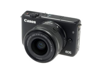 Canon M10 + 3,5-5,6/15-45mm