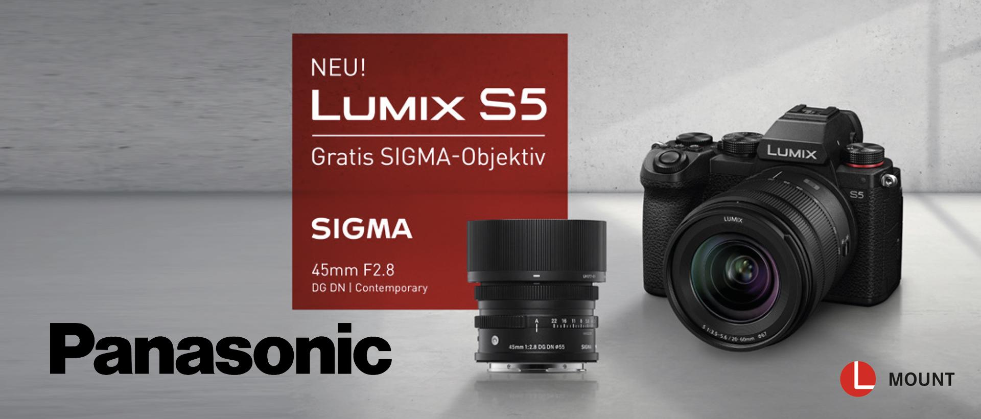 Panasonic Lumix S5 Aktion