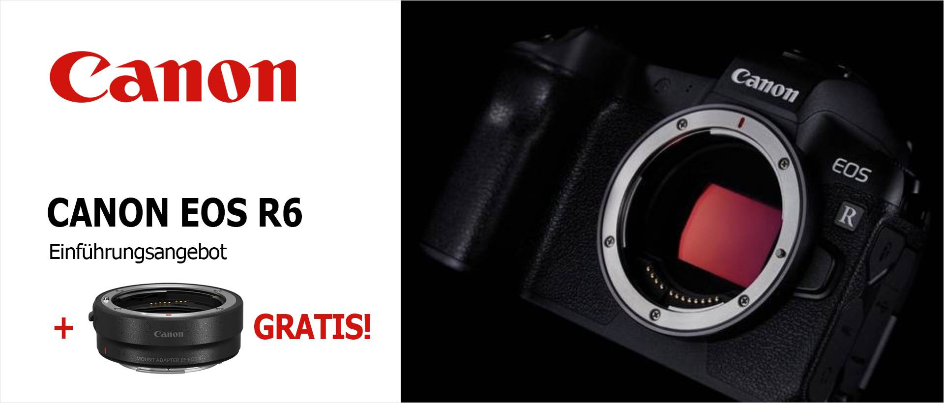 Canon EOS R5 Einführungsangebot