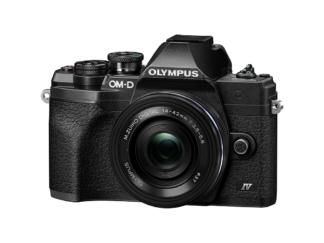 Olympus OM-D E-M10 Mark IV + 14-42mm EZ schwarz