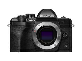 Olympus OM-D E-M10 Mark IV Gehäuse schwarz