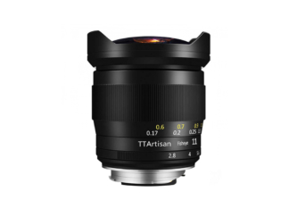TTArtisan M 2,8/11mm Fisheye + Sucher
