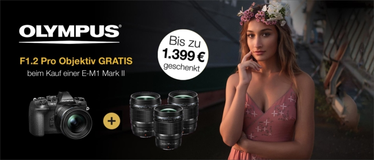 "Olympus PRO Festbrennweite ""for free"""