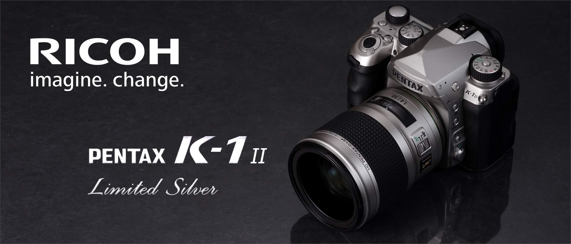 "Pentax K-1 II ""Silver Edition"""