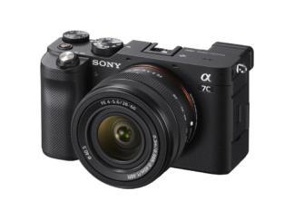 Sony Alpha 7c + 4,0-5,6/28-60mm schwarz