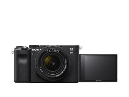 Sony Alpha 7c Gehäuse schwarz