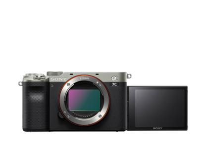 Sony Alpha 7c Gehäuse silber