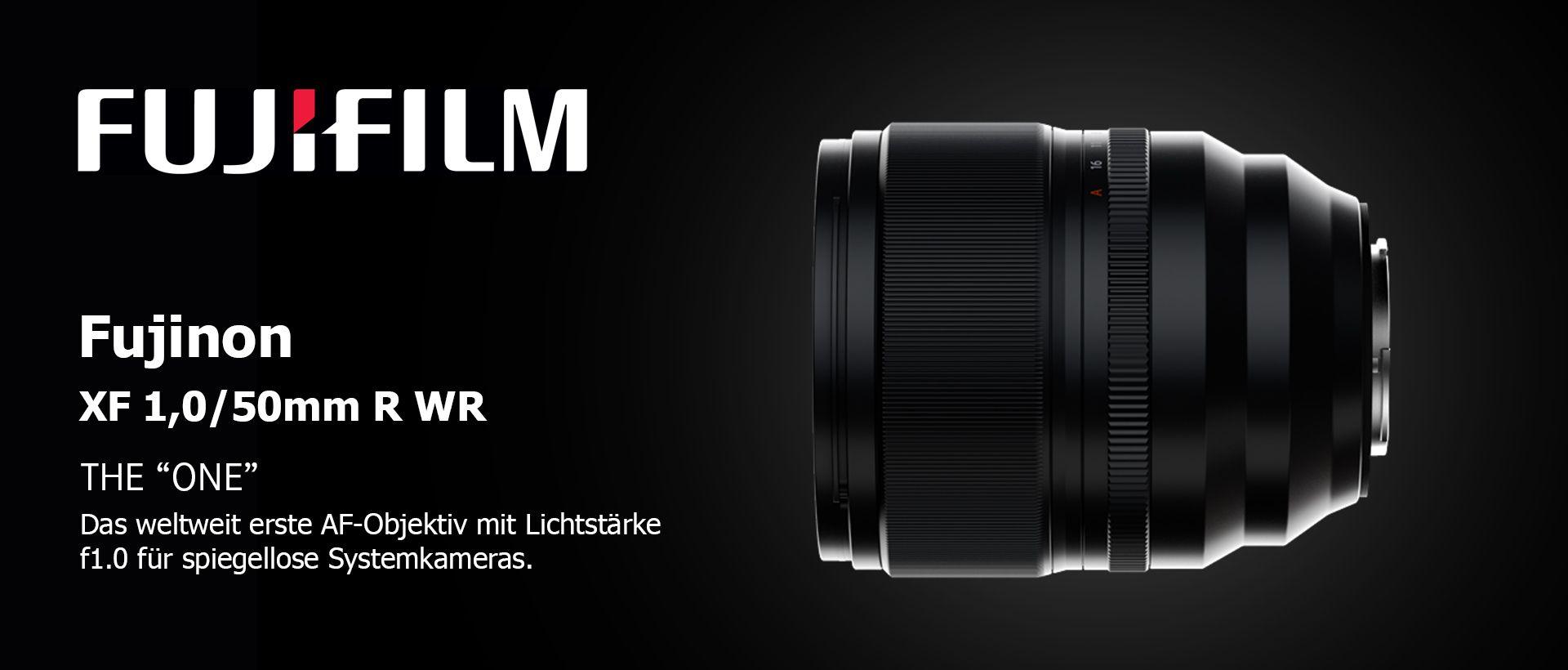 Fujinon XF 1,0/50mm R WR