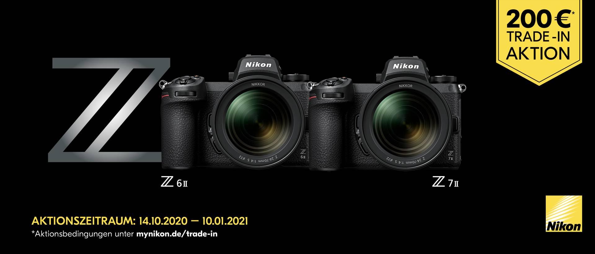 Nikon Z7 II / Z6 II Trade-In