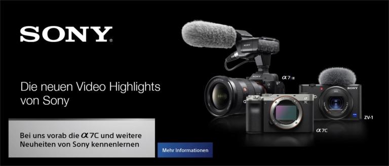 Sony Event: Die neuen Video Highlights