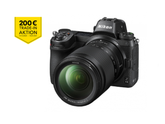 Nikon Z6 II mit 4-6,3/24-200mm VR + FTZ Adapter - 'Trade-In'