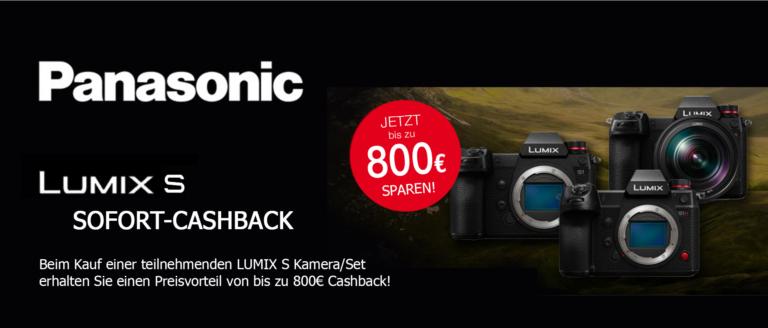 Panasonic Lumix S Sofort-Cashback