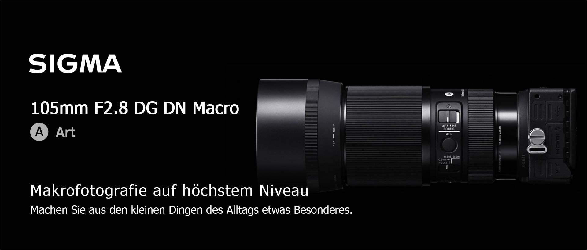 SIGMA 105mm F2.8 DG DN MACRO | Art – L-Mount