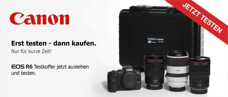 Leihaktion: Canon EOS R6 - Jetzt testen!