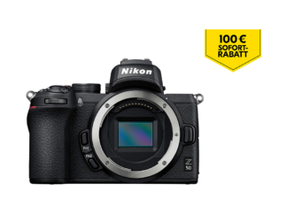 Nikon Z50 Gehäuse mit FTZ Adapter - 'Trade-In' Aktion
