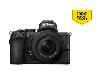 Nikon Z50 Kit mit 3,5-6,3/16-50mm VR und FTZ-Adapter + 5-Jahre-Garantie-Aktion - 'Trade-In' Aktion