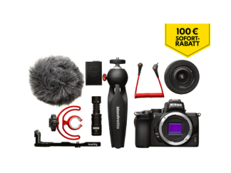 Nikon Z50 Vlogger Kit + 5-Jahre-Garantie-Aktion - 'Trade-In' Aktion