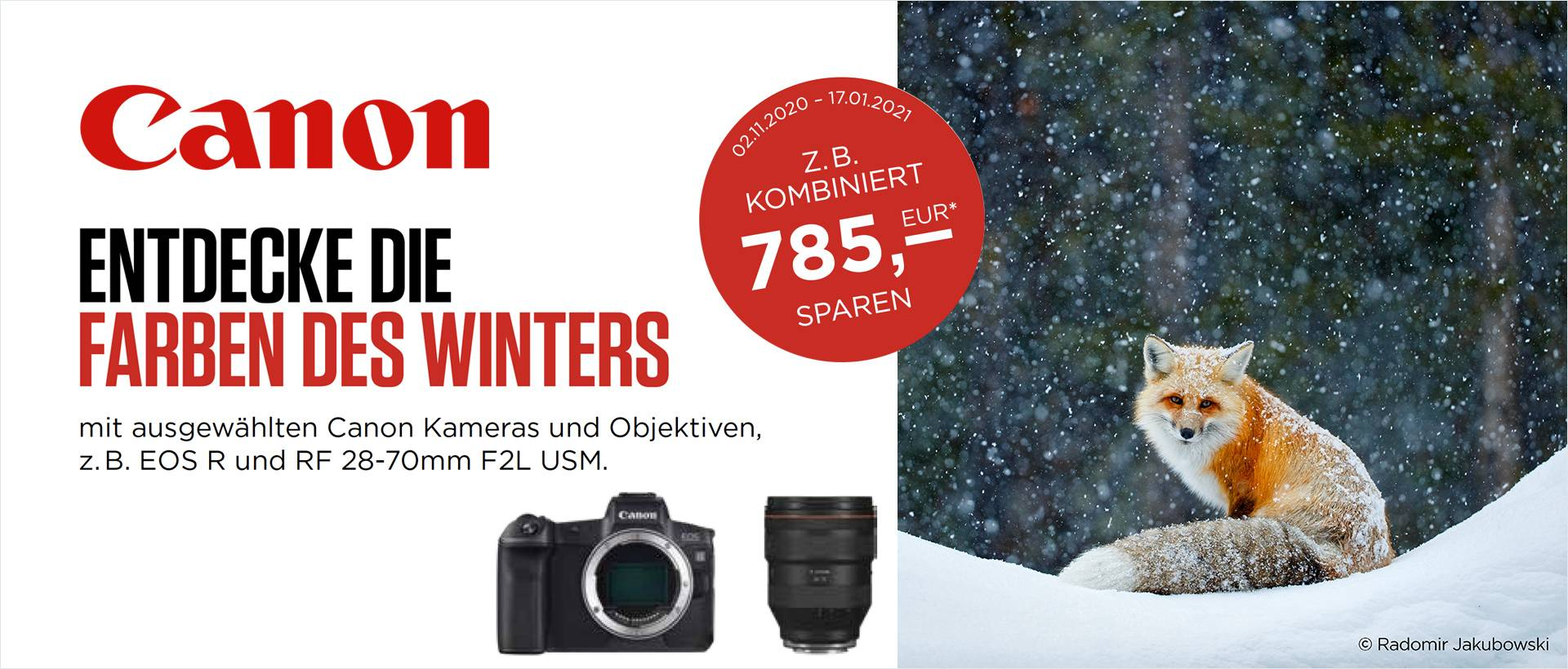 Canon Winter Sofort-Rabatt