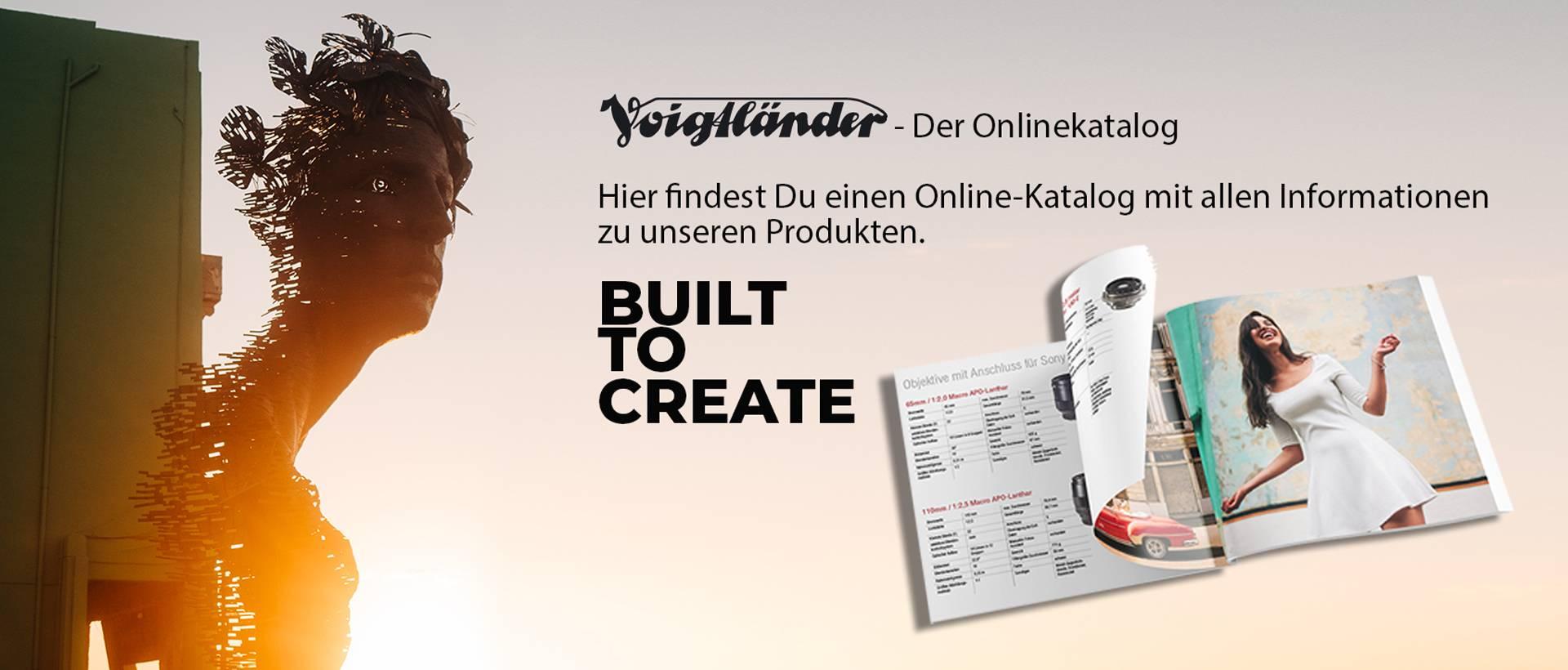 Voigtländer Online Katalog