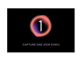 Capture One 21 für SONY