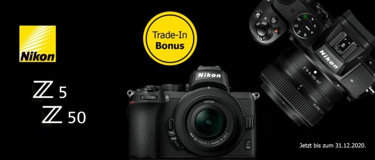 Nikon Z5 / Z50 Trade-In Aktion
