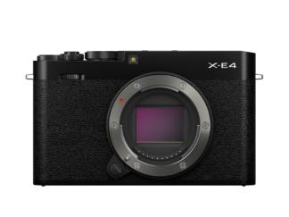 Fuji X-E4 schwarz Gehäuse