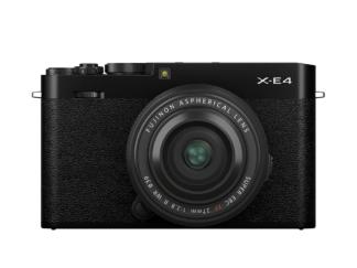 Fuji X-E4 schwarz + XF 2,8/27mm R WR
