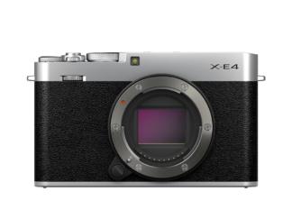 Fuji X-E4 silber Gehäuse