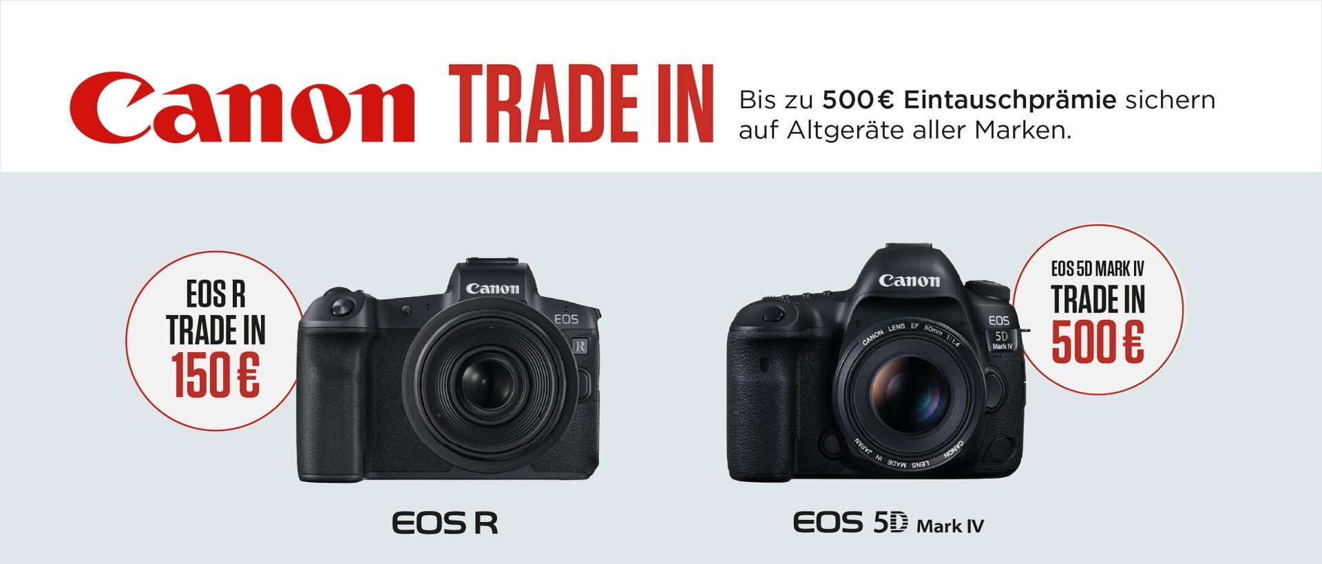 Canon EOS 5D IV / EOS R Trade-In
