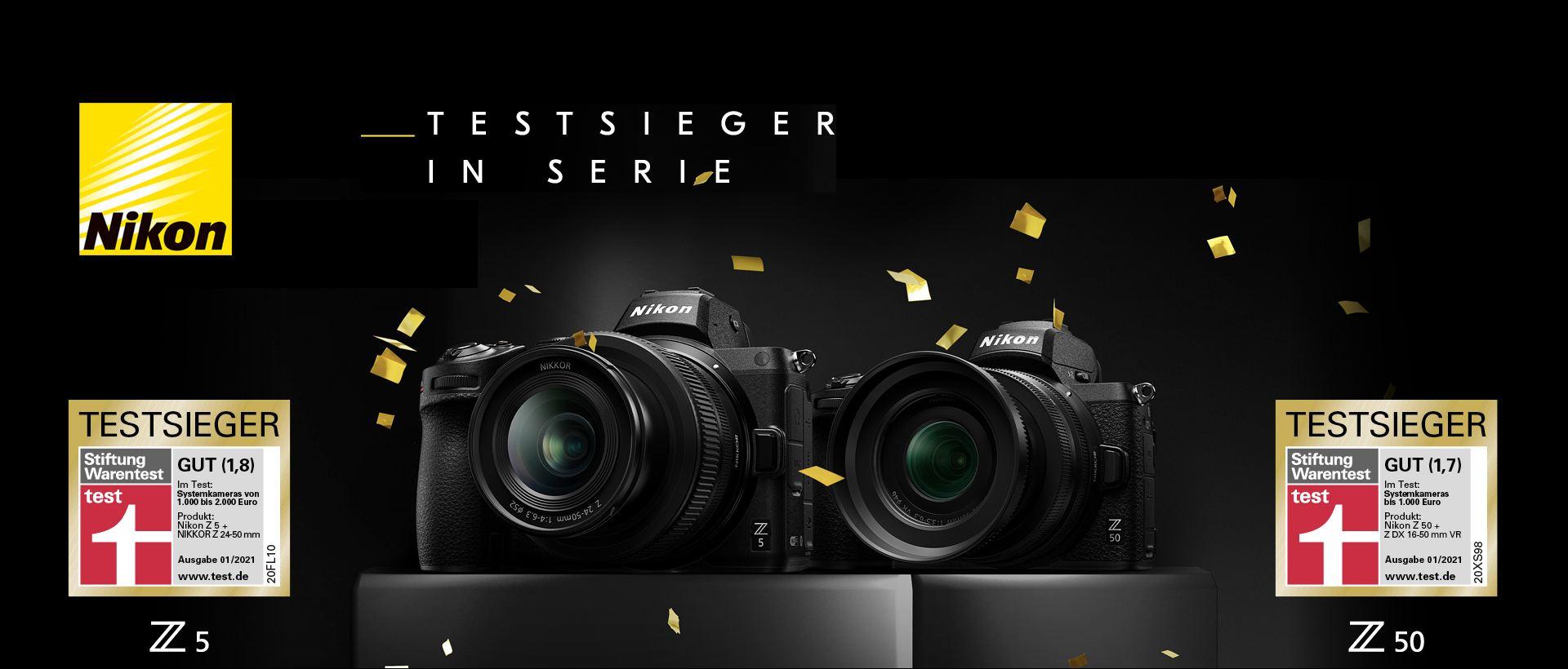 Nikon Z5 / Z50 Aktion