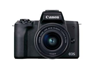 Canon EOS M50 II + 15-45mm schwarz