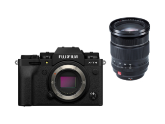 Fuji X-T4 schwarz + XF 2,8/16-55mm WR