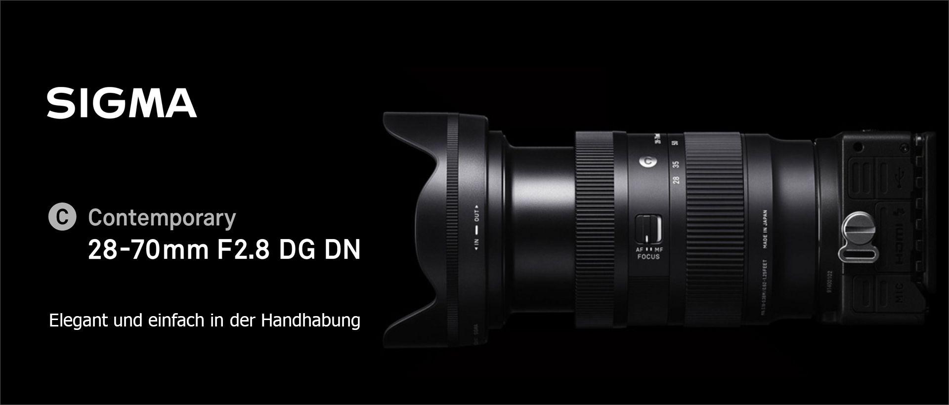 SIGMA 28-70mm F2,8 DG DN | Contemporary – L-Mount
