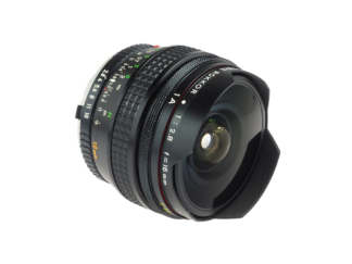 Minolta MC Fish-Eye Rokkor 2,8/16mm