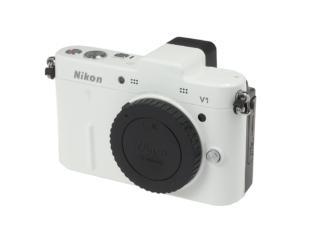 Nikon 1 V1 Gehäuse weiß