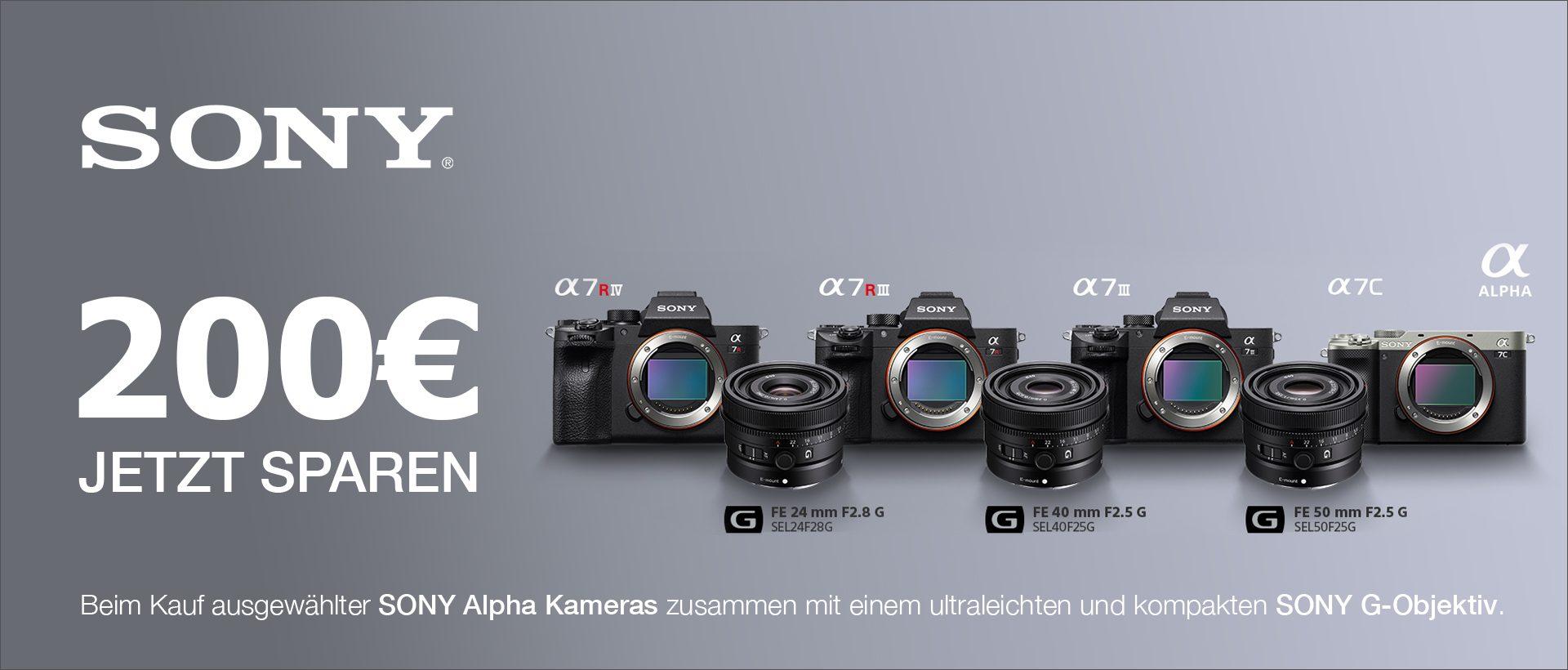 Sony Kombi-Rabatt Aktion