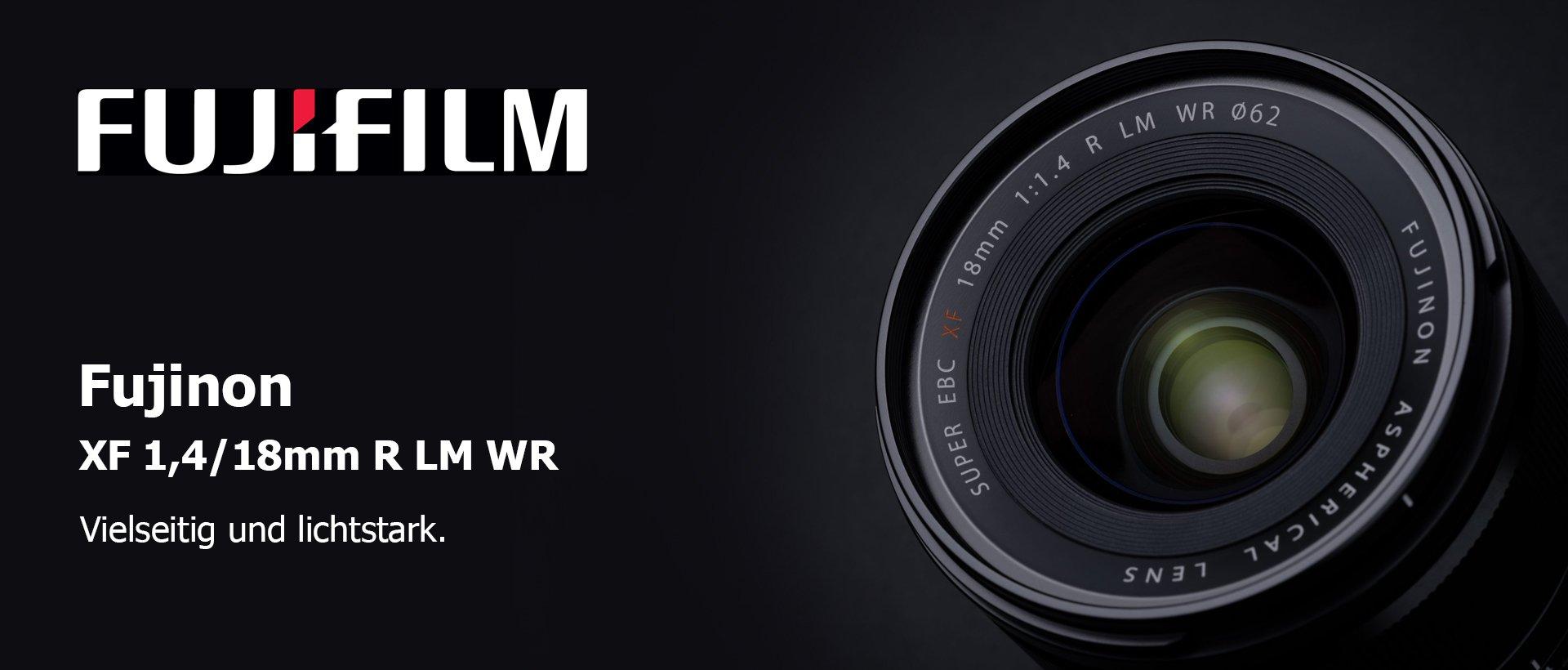 Fujinon XF 1,4/18mm R LM WR