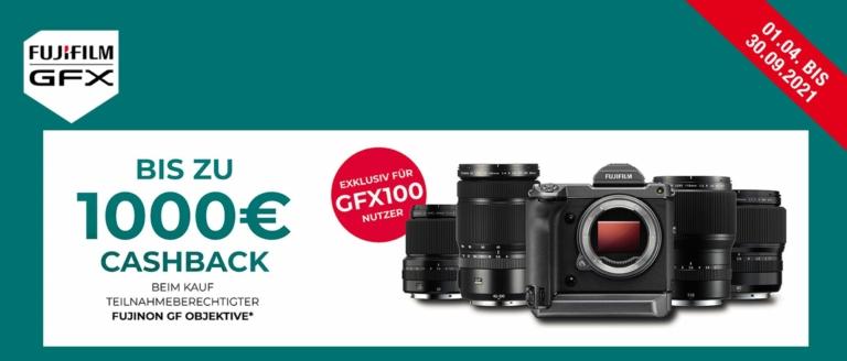 Fujifilm GFX 100 Cashback