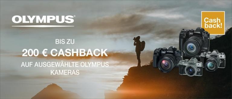 Olympus OM-D Cashback Aktion