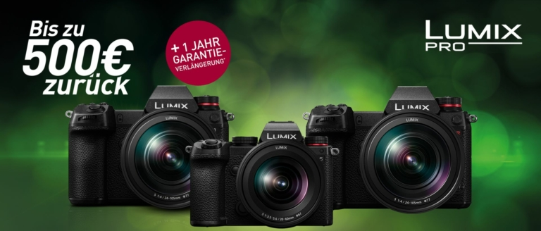 Panasonic Lumix S Aktion