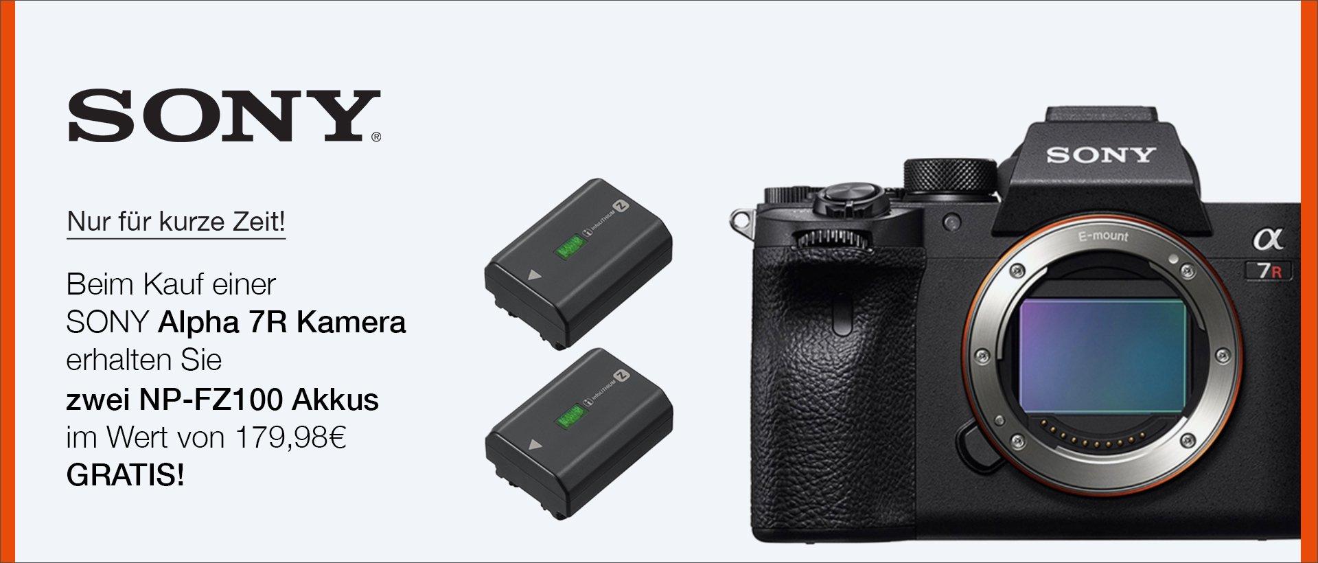 Sony Alpha 7R IV / 7R III Aktion