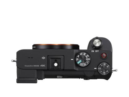 Sony Alpha 7c schwarz + GP-VPT2BT Griff + ECM-W2BT Mikrofon